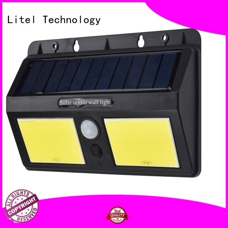 Litel Technology lamp solar powered garden lights bridgelux for gutter