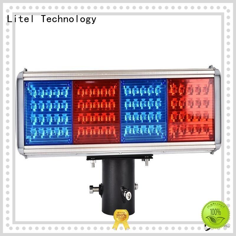 solar panel traffic lights hot-sale for high way Litel Technology