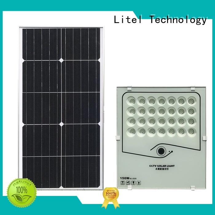 best quality solar powered flood lights durable bulk production for porch