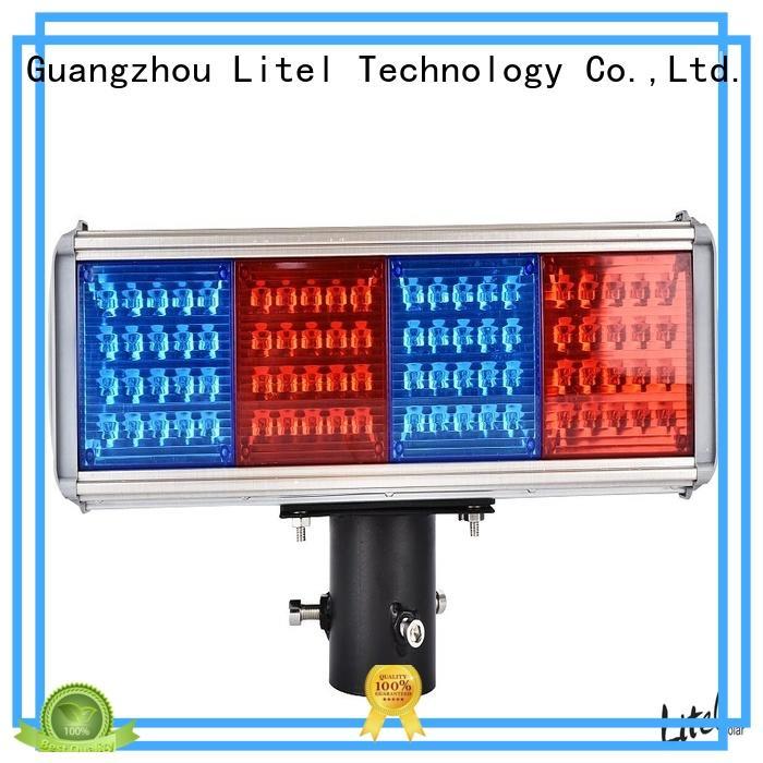 solar solar traffic light system emergency for alert Litel Technology