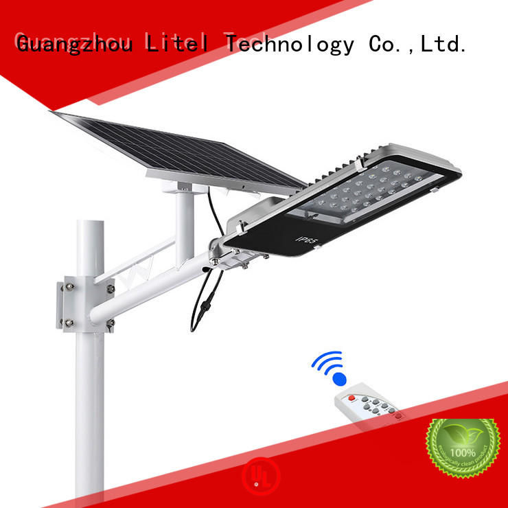 Litel Technology solar street light design at discount for lawn