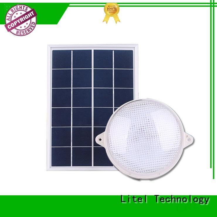 Litel Technology energy-saving solar powered ceiling light ODM for alert