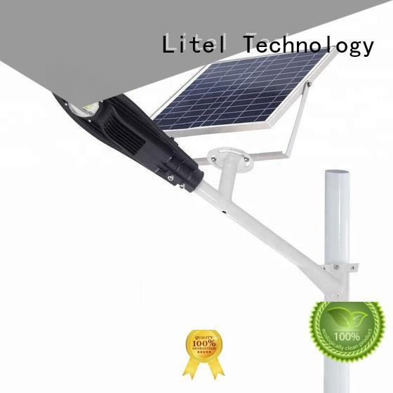 energy-saving 60w solar led street light low cost for porch Litel Technology