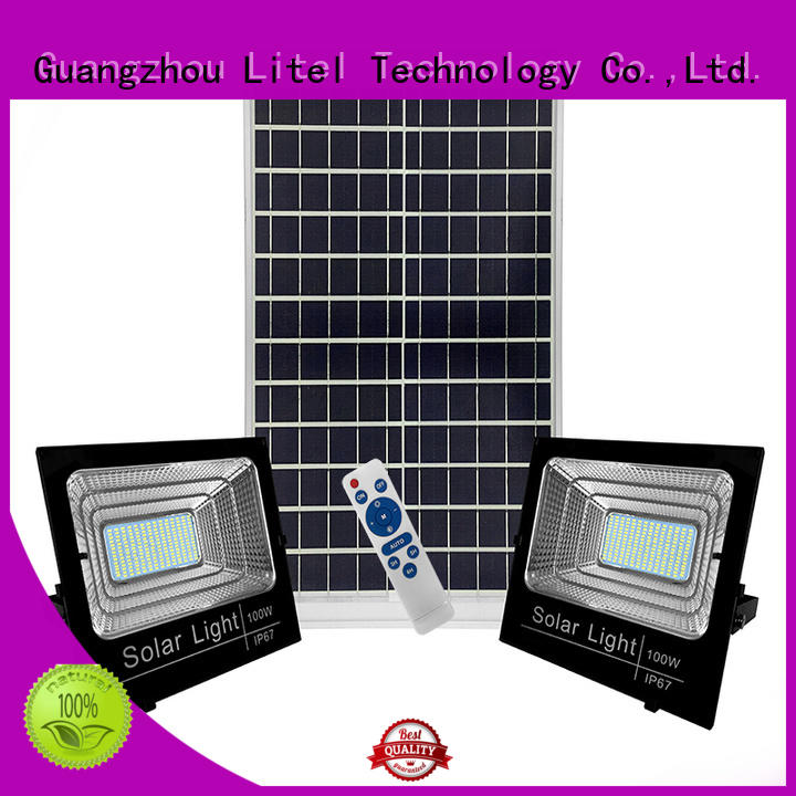 Litel Technology remote control high power solar led flood light inquire now for patio