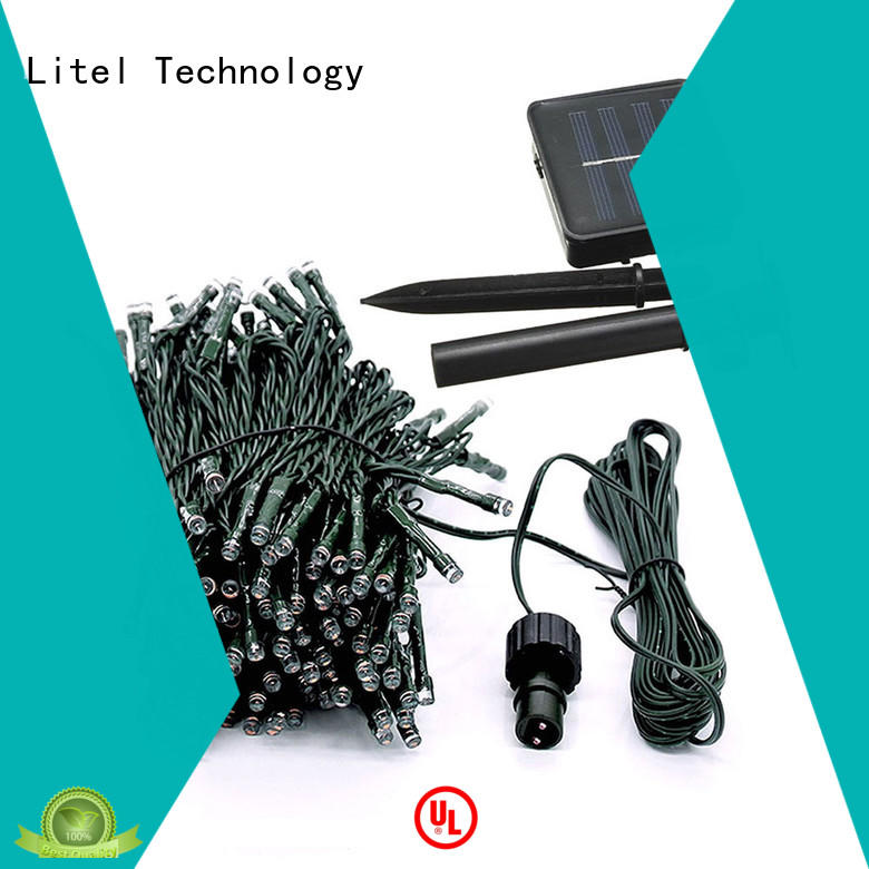 solar powered string lights hot-sale for wholesale Litel Technology