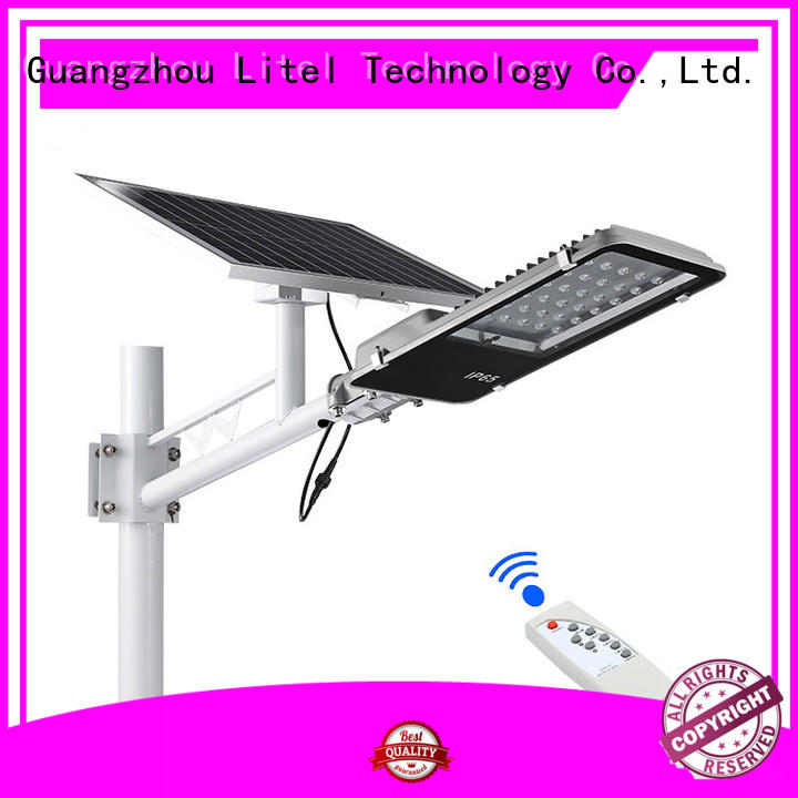 Litel Technology wireless solar street light design