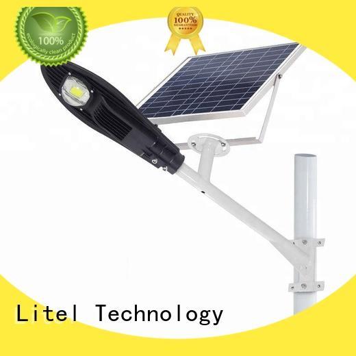 Litel Technology Brand led cob solar powered led street lights sensor supplier