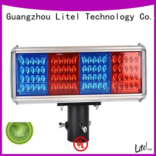 usb solar led traffic lights emergency for Litel Technology