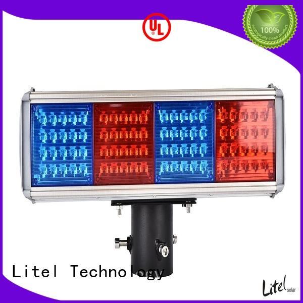 Litel Technology solar traffic lights usb for high way