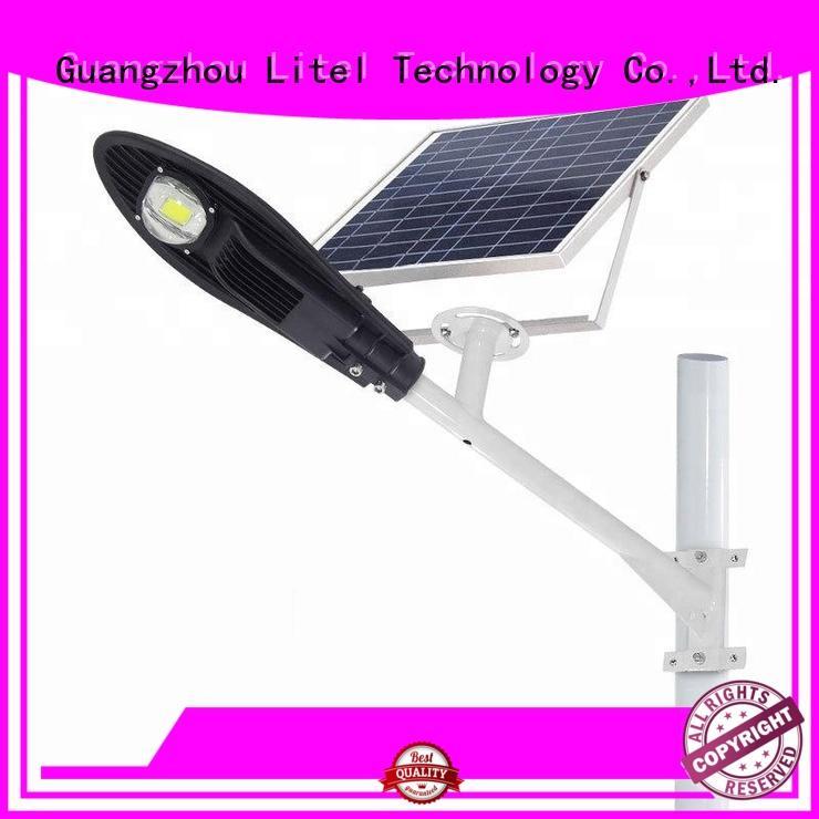 popular smart solar street light easy installation for workshop Litel Technology