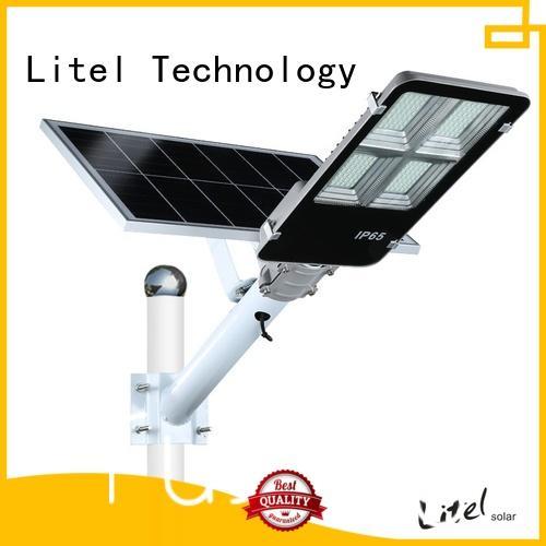 outdoor solar street lighting system popular sensor remote control for factory
