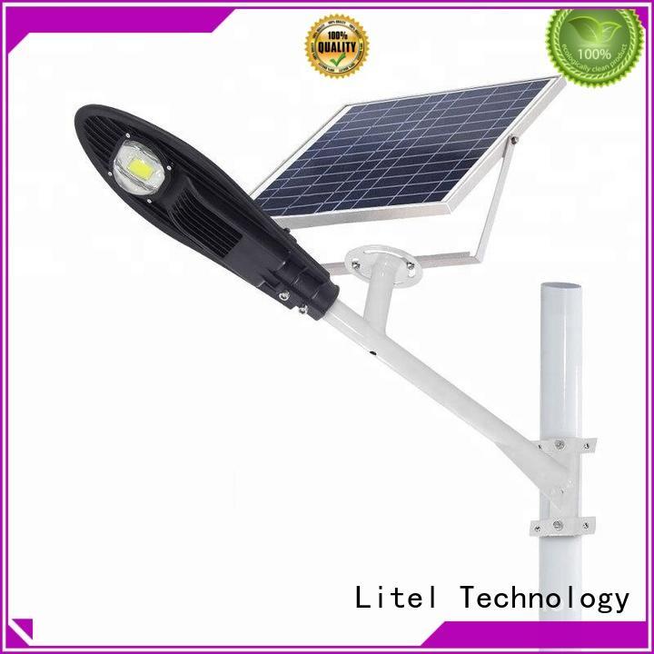 popular solar powered street lights residential energy-saving for warehouse Litel Technology