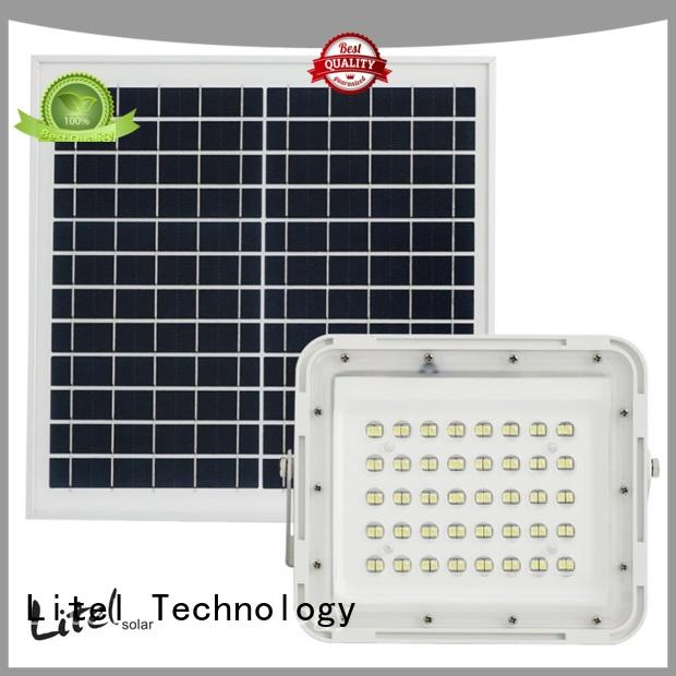 Litel Technology solar powered flood lights outdoor bulk production for warehouse