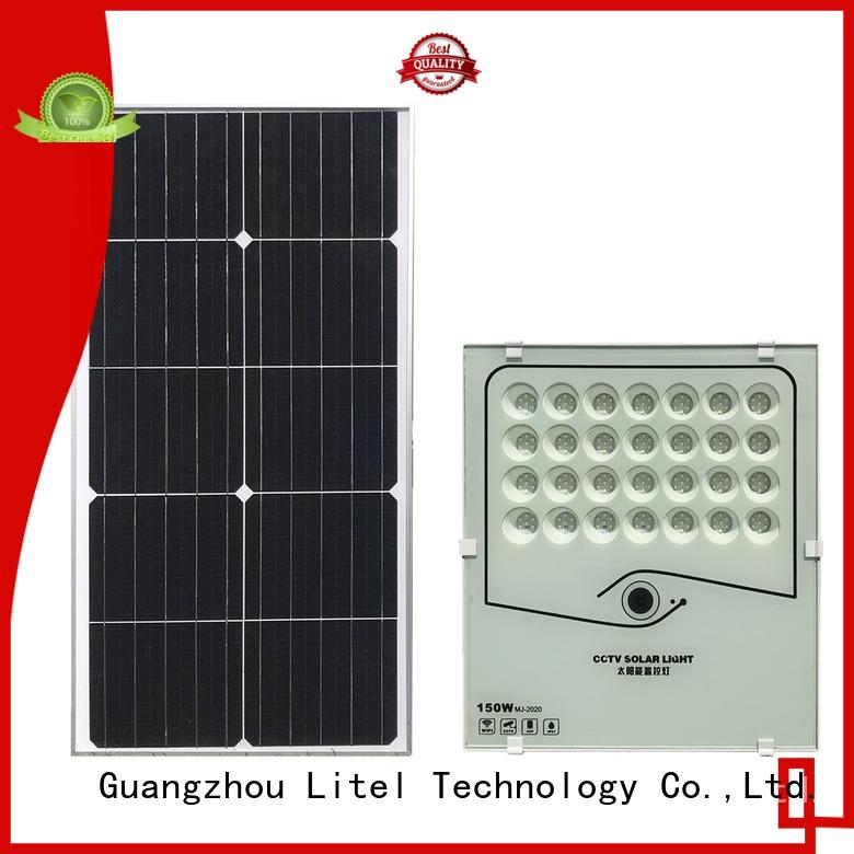 Litel Technology reasonable price best solar flood lights by bulk for warehouse
