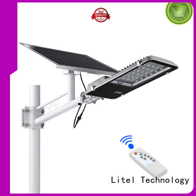 Litel Technology hot-sale solar panel street light custom