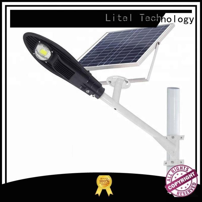 brightness remote light solar powered led street lights Litel Technology Brand