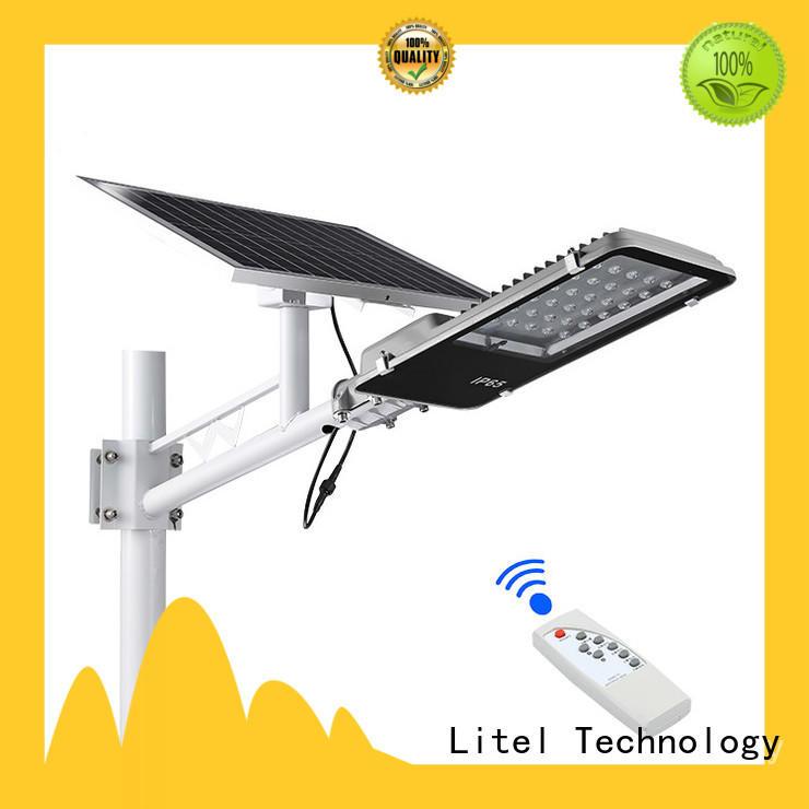 Litel Technology solar panel street light custom for street