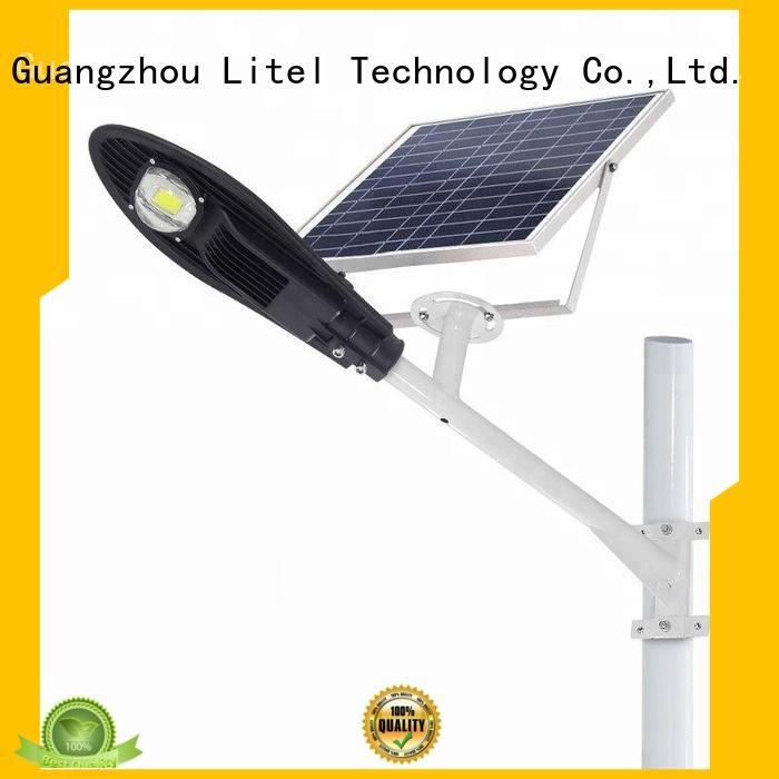 energy-saving solar powered street lights residential popular for warehouse Litel Technology