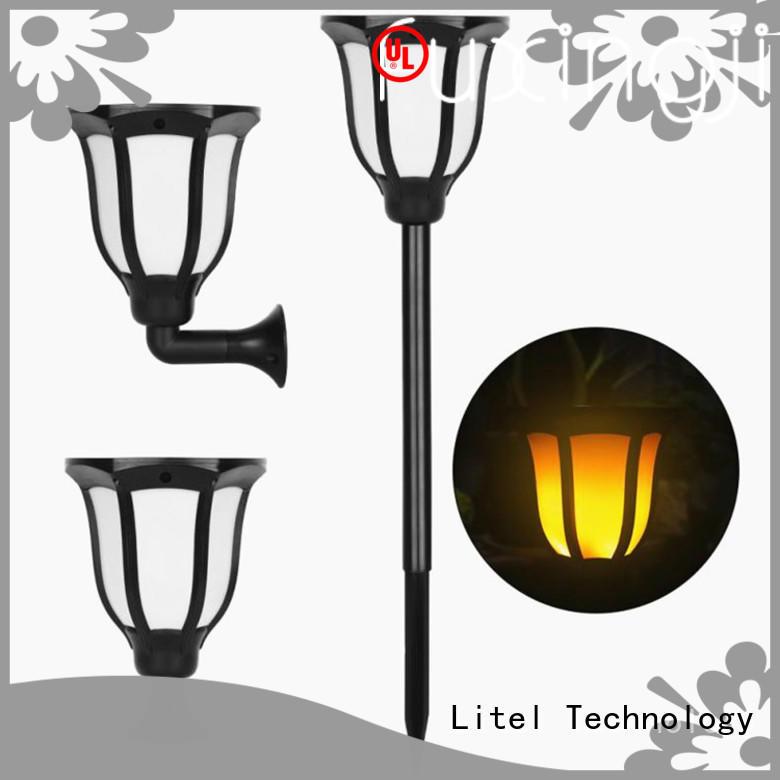 light large solar garden lights top selling for lawn Litel Technology