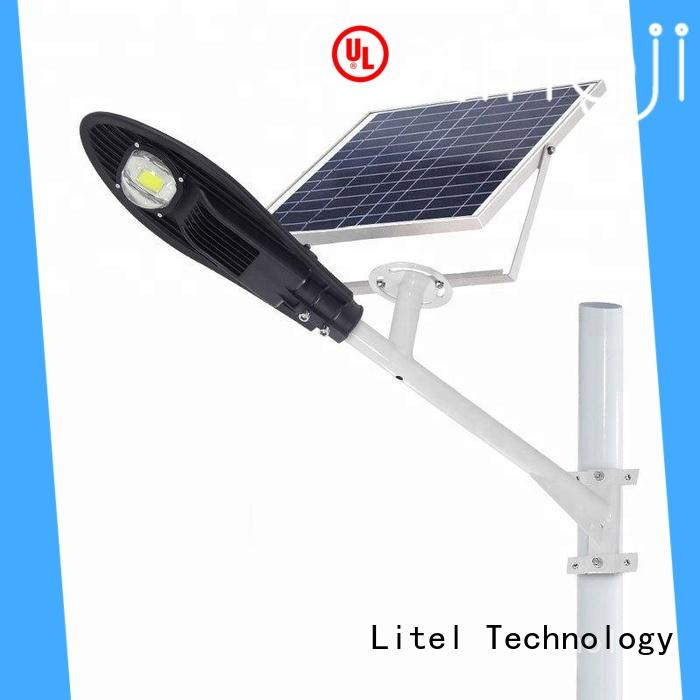 Litel Technology dim solar powered street lights residential for garage