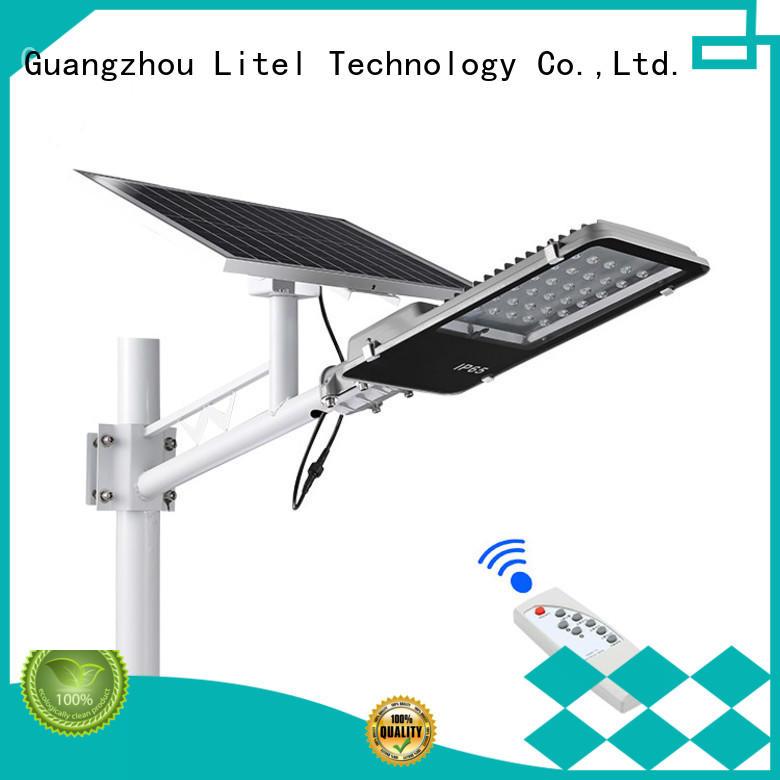 30w 40w 60w light sensor+remote control high brightness led solar project street light IP65