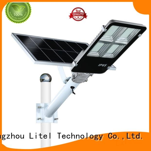 Litel Technology led 60w solar led street light at discount for warehouse