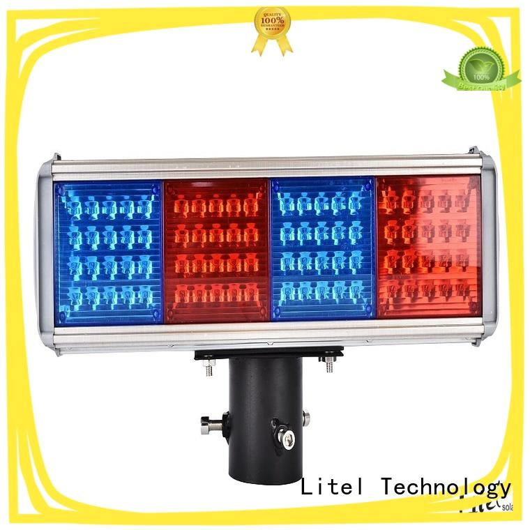 Litel Technology solar powered traffic lights at discount for high way