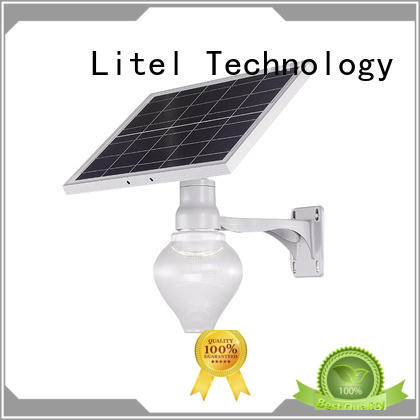IP65 15W outdoor solar powered decoration garden peach type led solar light