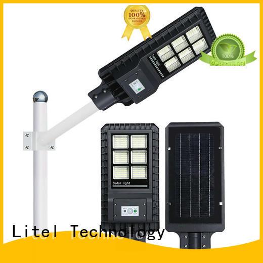light solar powered street lights acceptable for barn Litel Technology