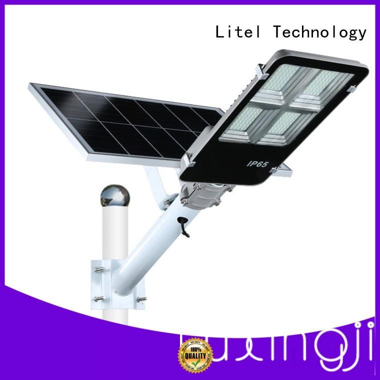 low cost 20w solar led street light by bulk for porch Litel Technology
