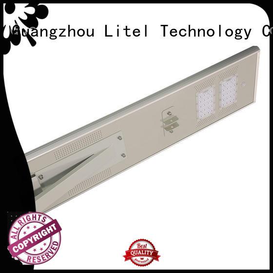 High lumen IP65 25/30/40/50/60/70/80/100/120/150W aluminum housing PWM all in one solar street light