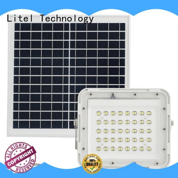 competitive price solar powered flood lights for factory