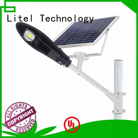 Litel Technology low cost solar powered street lights residential for workshop