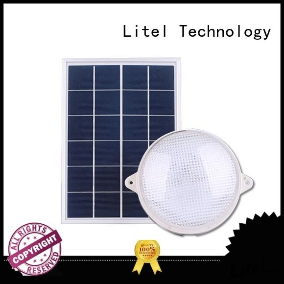brightness solar powered ceiling light OBM for high way Litel Technology