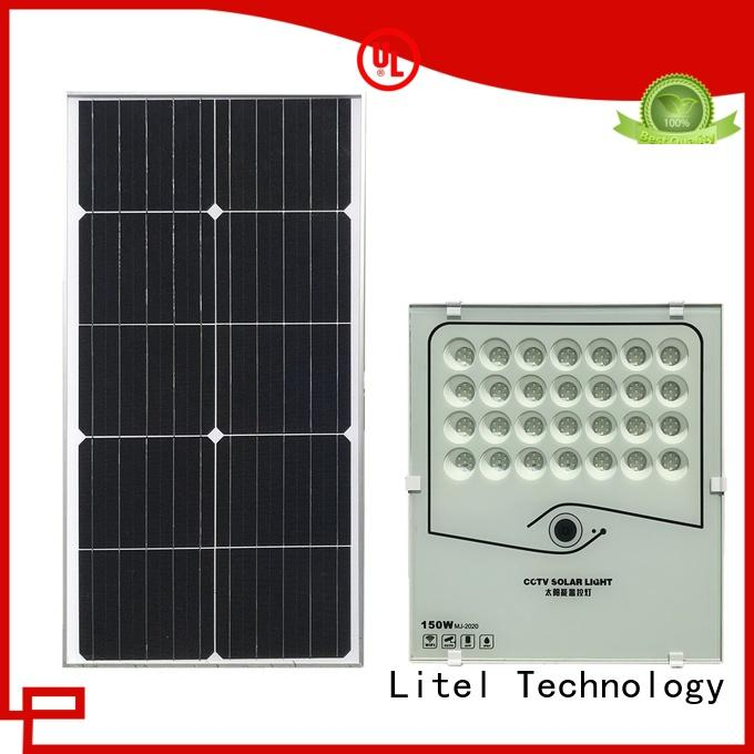 durable solar powered motion flood lights low cost for barn Litel Technology